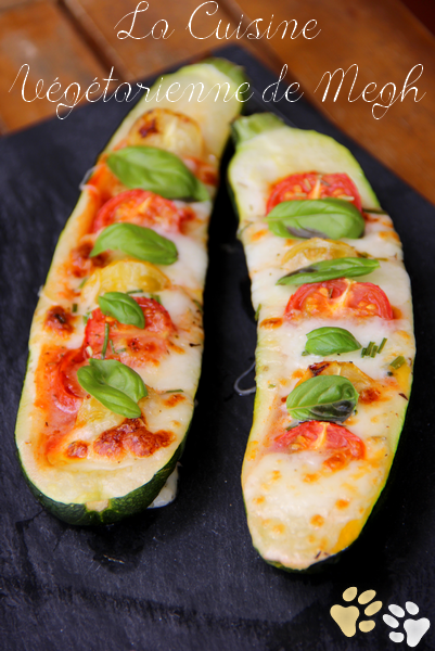 Courgettes farcies tricolores 2
