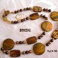 Collier en Nacre et perles nacrées