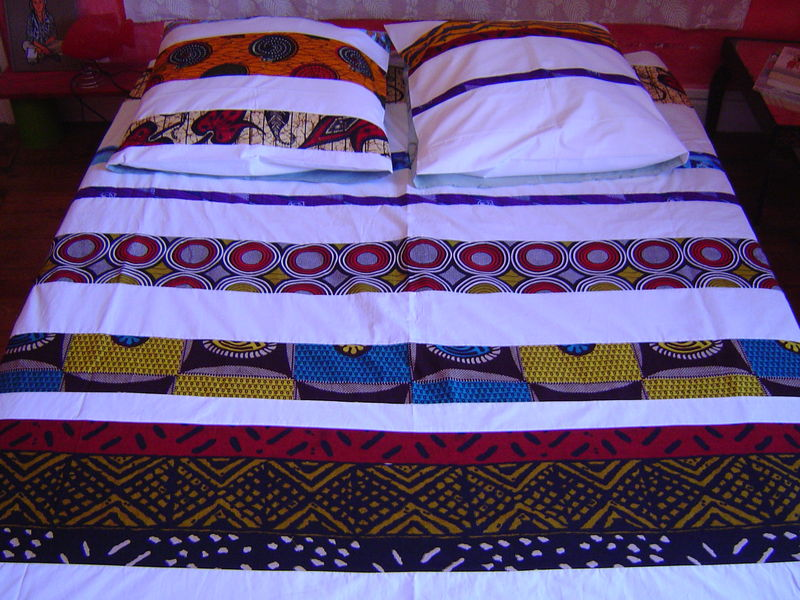 couette afrique alabandine du linge de lit pour colorer vos nuits. Black Bedroom Furniture Sets. Home Design Ideas