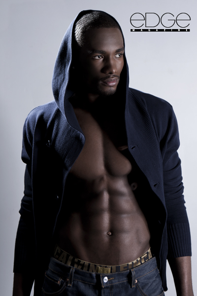 Serge Ibaca, black model