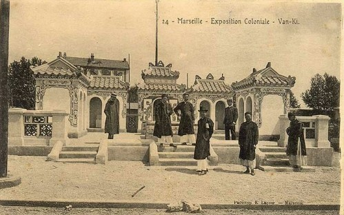 04. Exposition coloniale Marseille 1922.