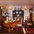 Premier étage : la pièce de réception