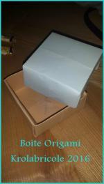 Boite Origami 2016