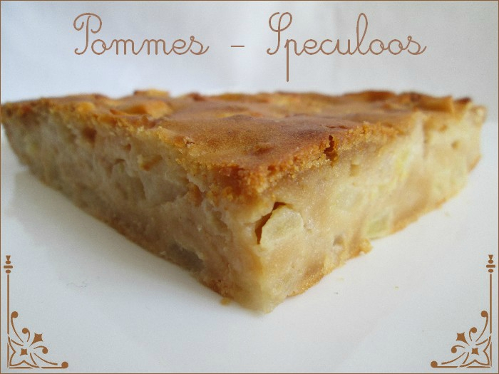 gâteau pommes speculoos 1