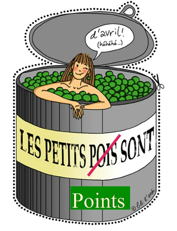 4 Points sont d'avril