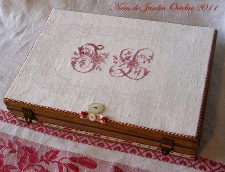 N°26 cousette à petits casiers 2011-10