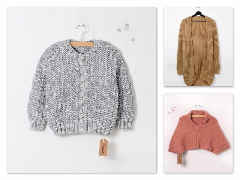 trois modèles de tricots gratuits