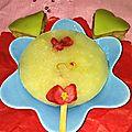 F&P Sucette Glacée Citron Amande Safran Fleurs de Bégonia