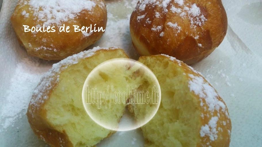 Boules de berlin au thermomix cook time - Recette boule de berlin moelleuse ...