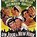 Gene kelly & stanley donen. un jour à new-york.(on the town) 1949.