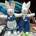 Couple de lapin-lapine- Vente des EDM
