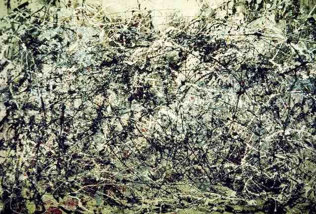 08. Jackson POLLOCK, Number One, 1948.