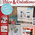 Avant première : atelier deco & creations n°24