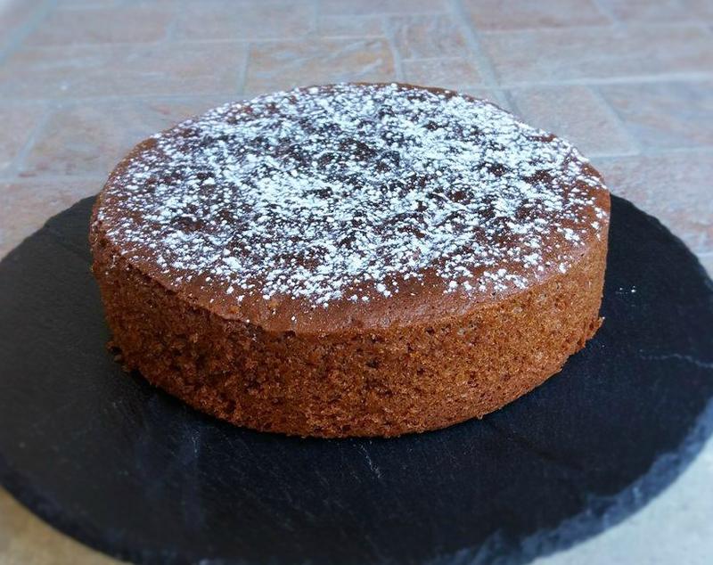 Gâteau au yaourt et nutella (jaunes d'oeufs)