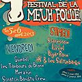 [Concours] Gagne ton pass 2 jours pour le Festival de la Meuh Folle  Als le 5 et 6 avril 2013 sur Discordance