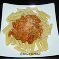 Sauce spaghetti au jambon cru, champignons et poulet (4,5 pp)