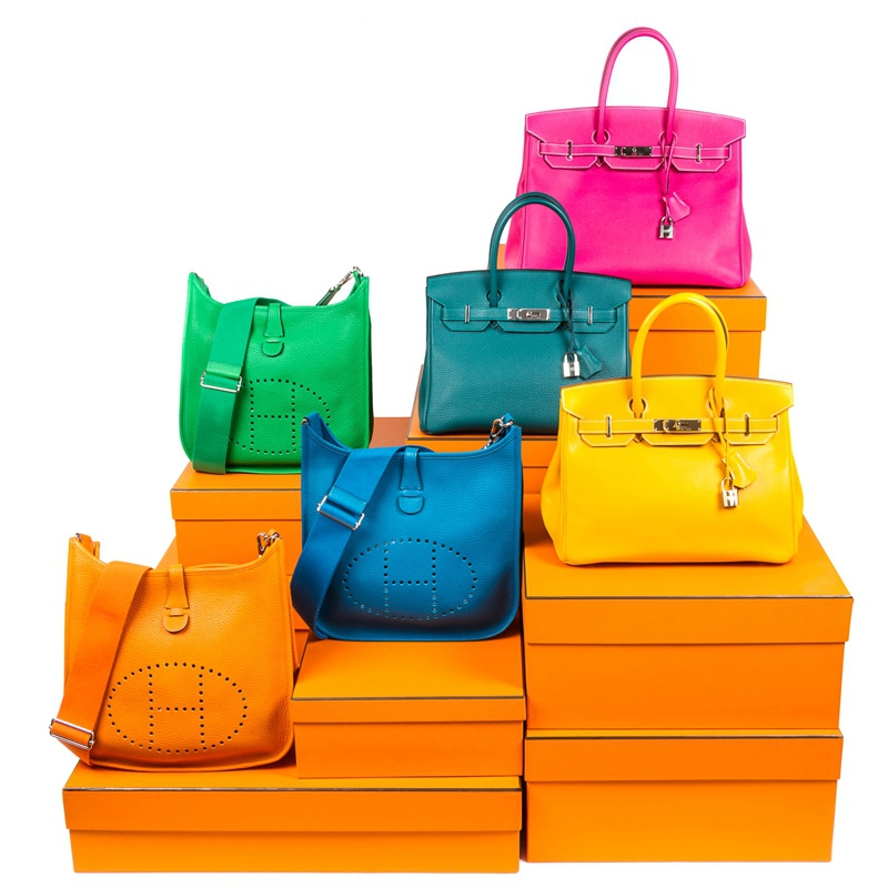 Designer handbags in pristine condition available at Leslie Hindman single owner auction