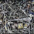 EXPRESSIONISME ABSTRAIT 1945-46_Night mist_Pollock
