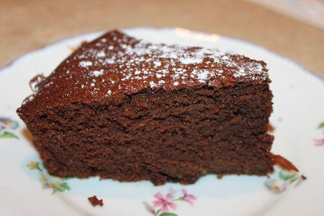 Recette de cake au chocolat pour 4 personnes