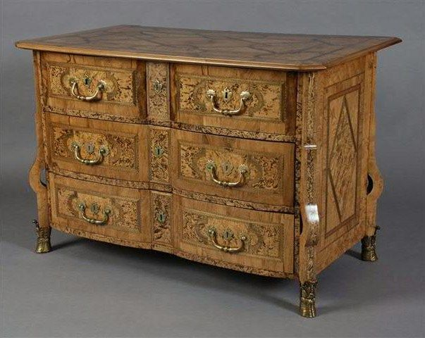commode mazarine epoque louis xiv alain r truong. Black Bedroom Furniture Sets. Home Design Ideas