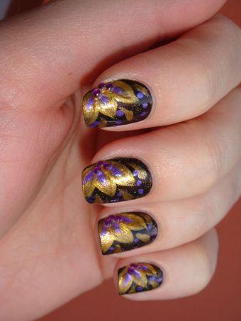 nail art sur Wicked de Avon