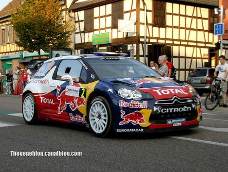 Citroen DS3 WRC (Ogier - Ingrassia)(Rallye de France 2011) 01
