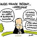 François hollande, le 14 juillet...