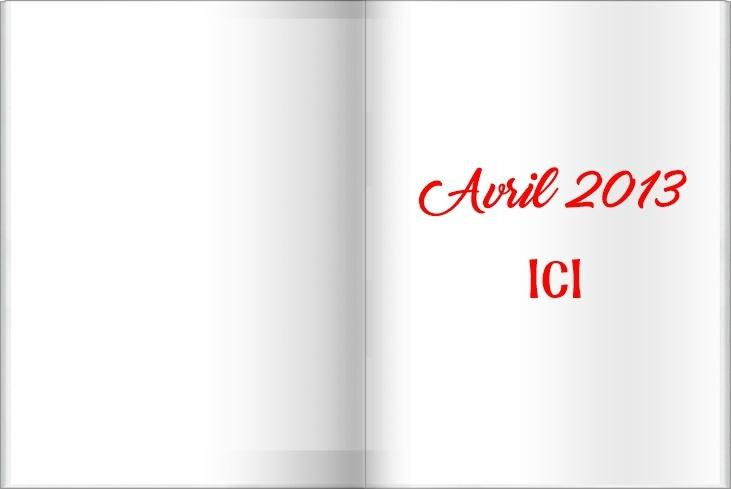 AVRIL 2013 BOOK