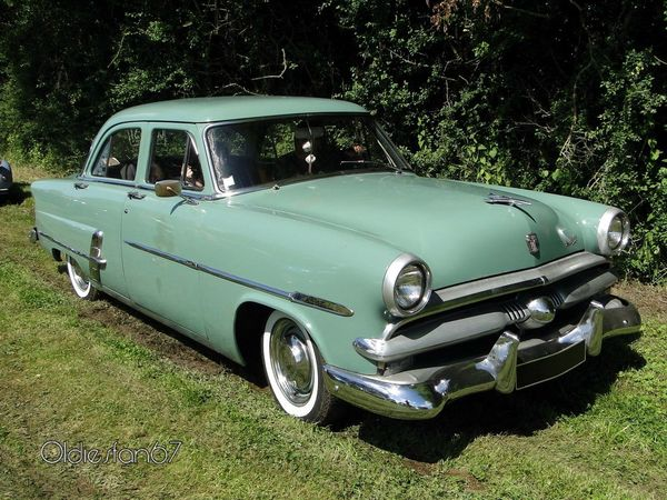 ford customline 4door sedan de 1953 a