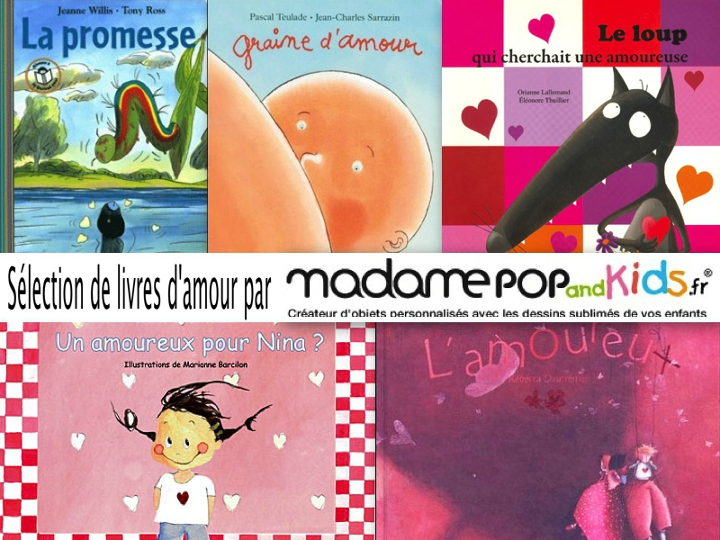 sélection livres mme pop and kids