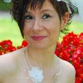 Valerie - collier de mariage Camelia 2