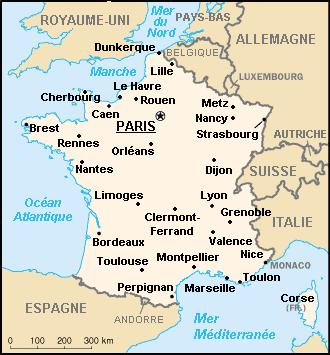 Villes françaises