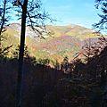 Le Layens (1625 mètres) vu du col de Boesou...