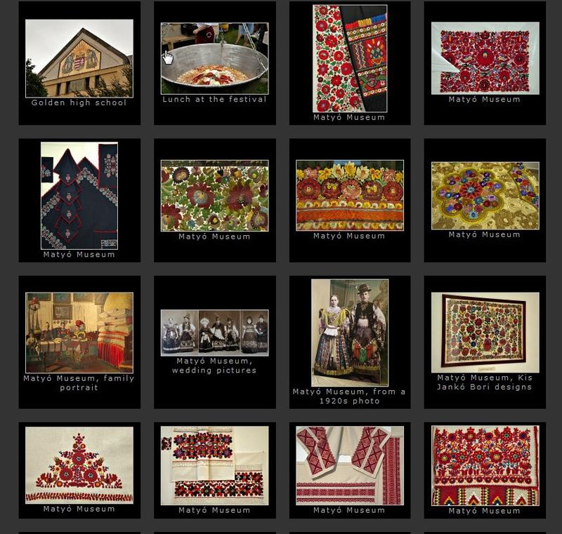 immagini del Museo Matyò di Mezokovesd