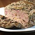 Terrine de canard au foie gras et aux cepes