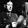 8 mai 1945 : allocution du général de gaulle à la radio à 15 heures - le 7 mai churchill annonce la rédition allemande