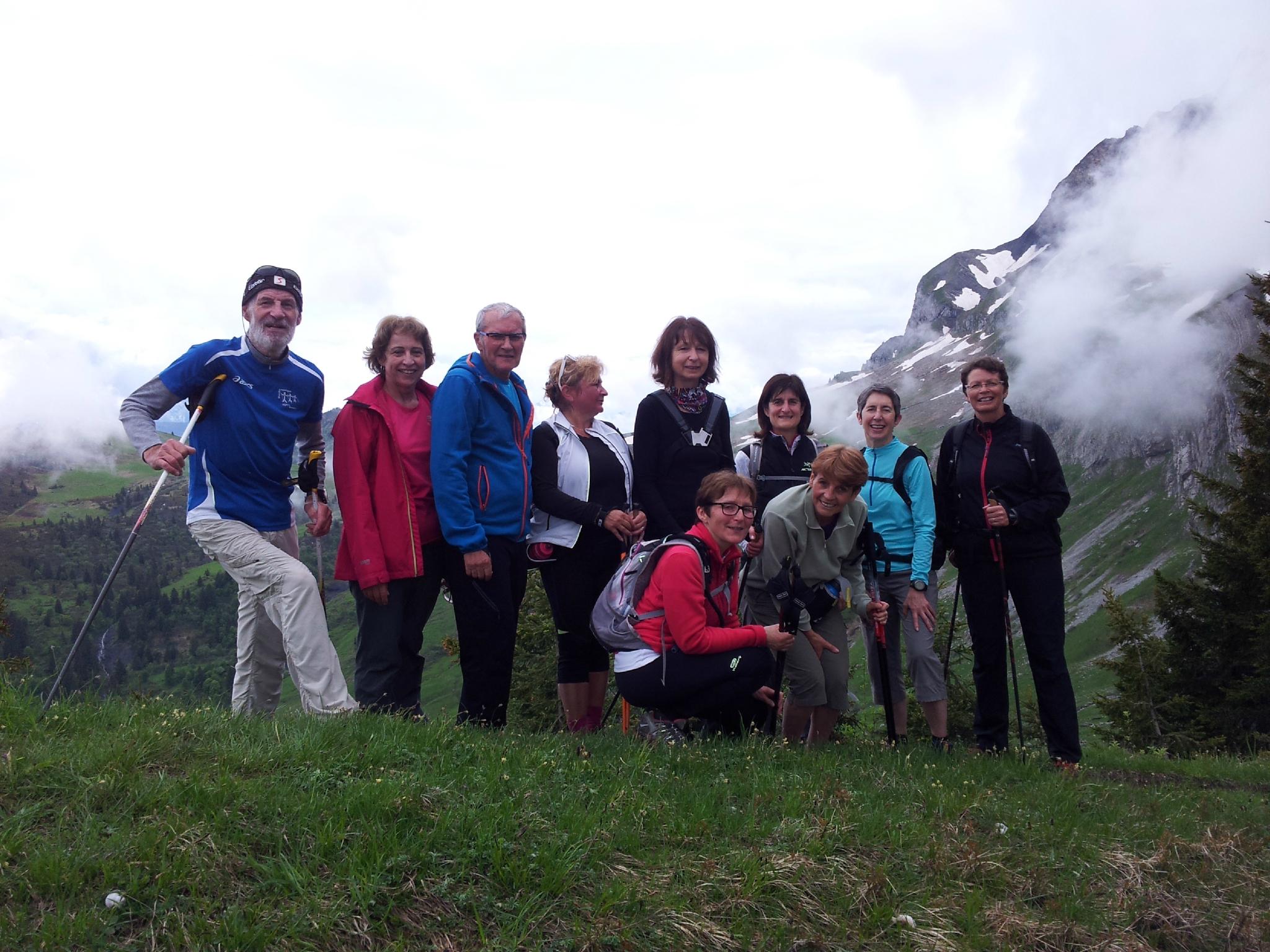 Sortie du 18 juin au Col des Aravis