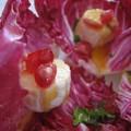 Salade douce amère pour amuse bouche de fête