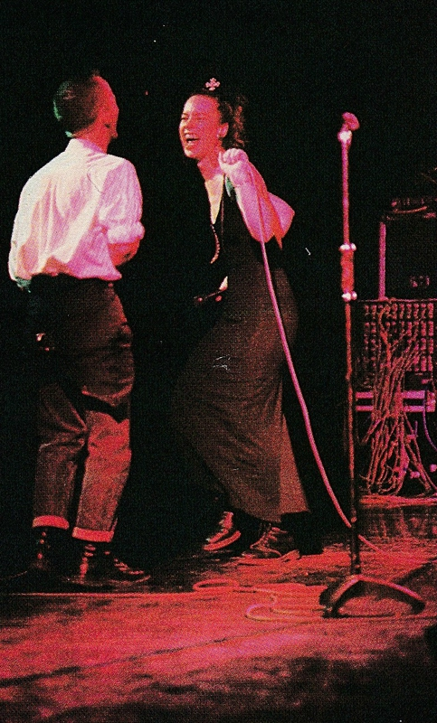 Jimmy Somerville & Sarah Jane Morris (The Communards), L'Olympia, november 1986