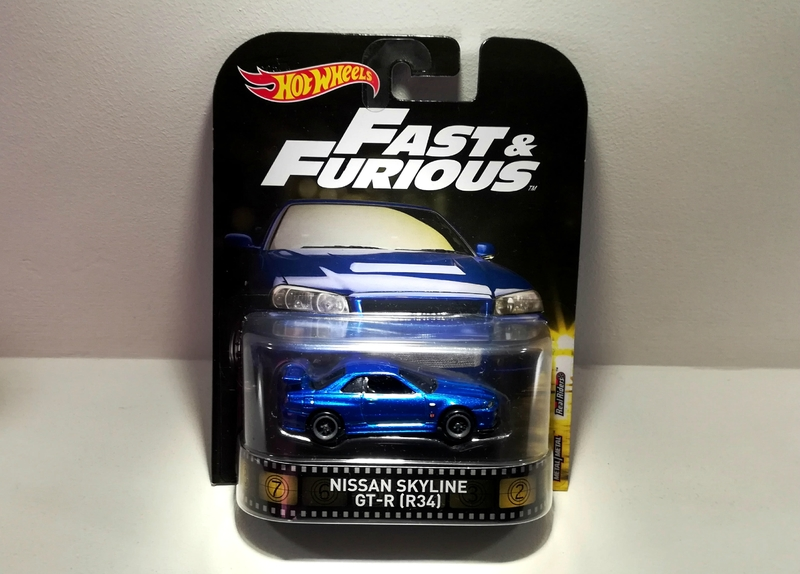 Nissan Skyline GT-R (R34) Fast and Furious (Hotwheels)