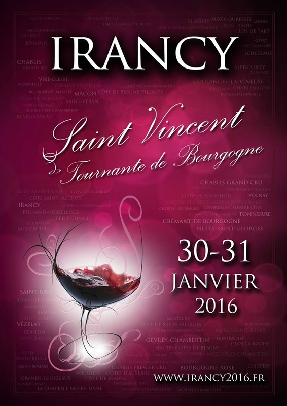 Saint Vincent d'Irancy 2016