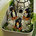Bento #002: Pingouins sur la banquise