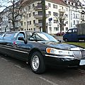 Lincoln town car royale executive series limousine
