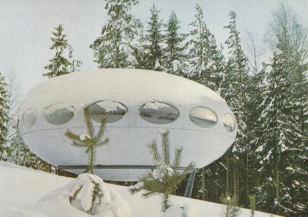 Casa-Finlandia Futuro Proto arch