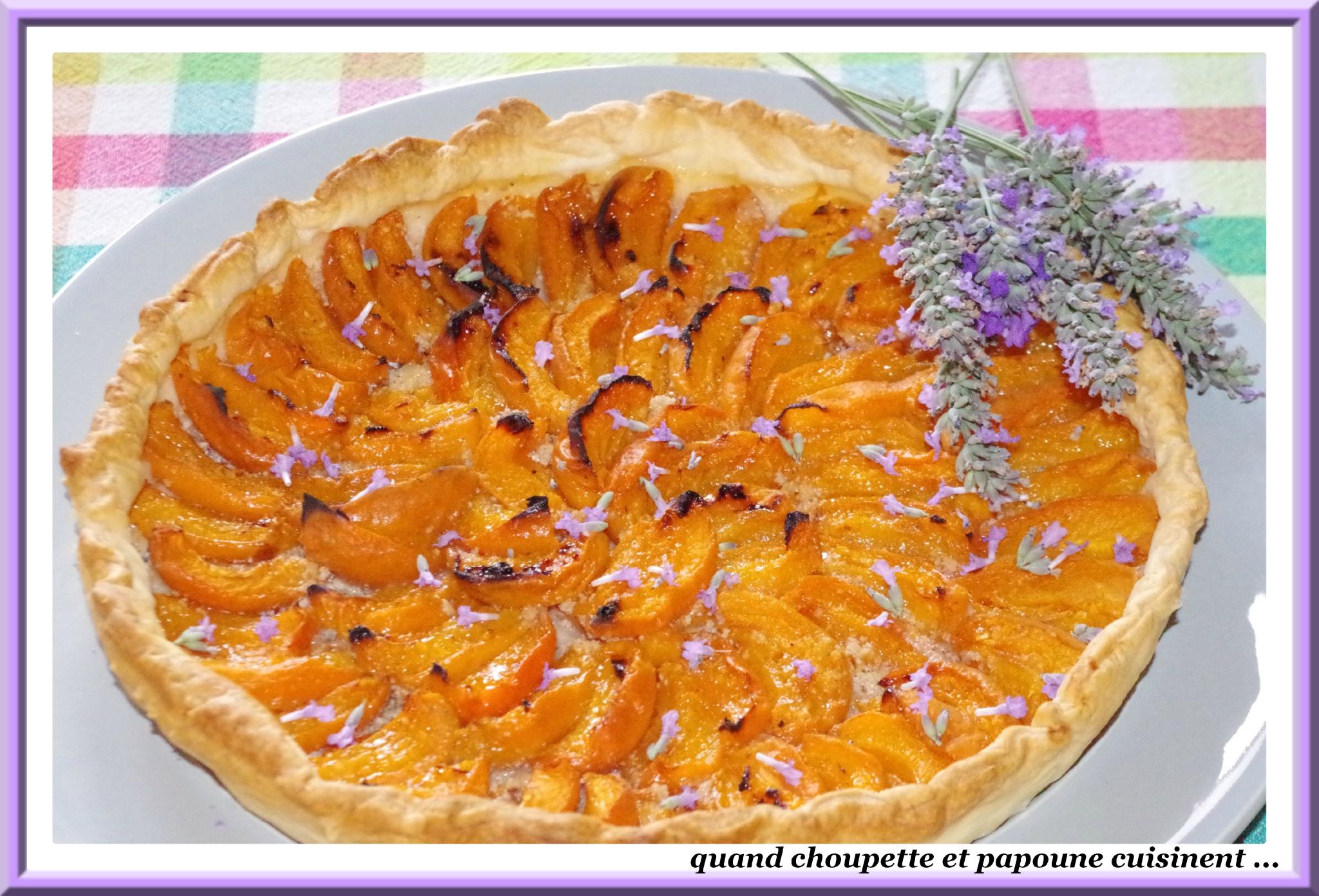 Tarte a l 39 abricots et a la lavande quand choupette et papoune cuisinent - Quand et comment couper la lavande ...