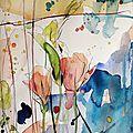 Compositions crayon et aquarelles (8)
