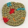 Crochet, mon calendrier de l'avent en granny! #18