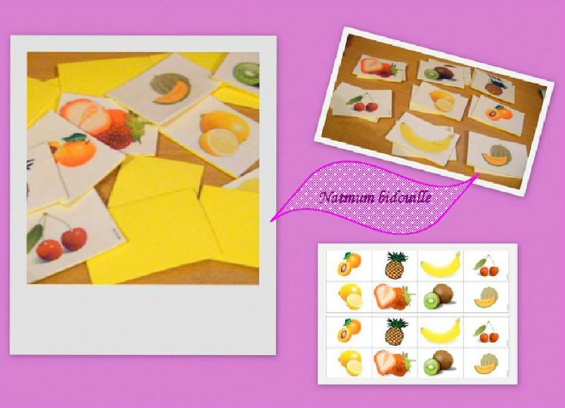 bidouille memory fruits