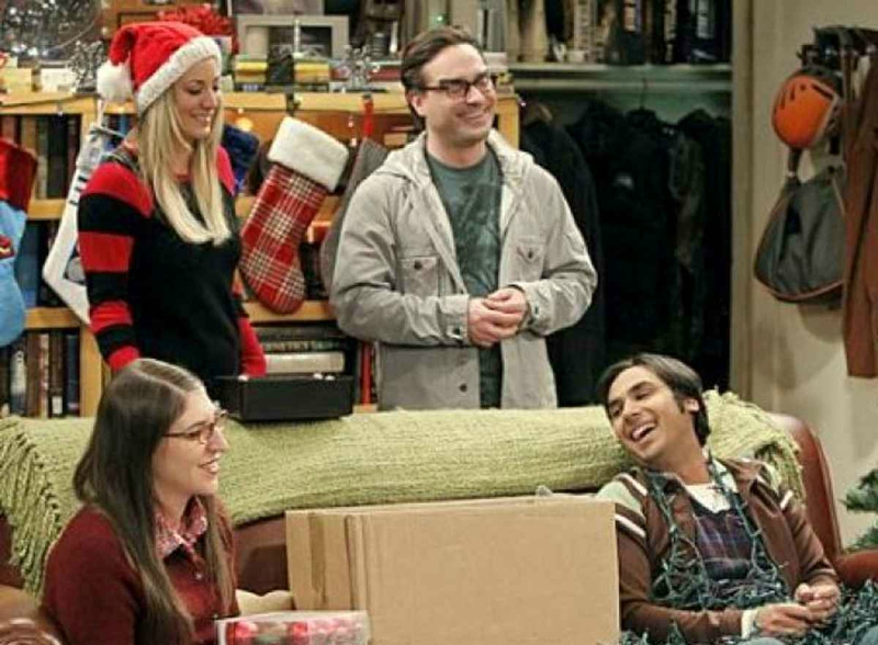Big bang theory - Noël