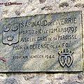 La Verrie (85) – Porche du logis de Sapinaud (1944)